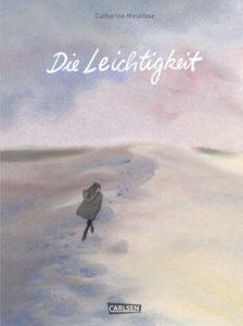 """Das Buchcover von """"Die Leichtigkeit"""" von Catherine Meurisse"""